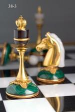 Шахматы. Малахит